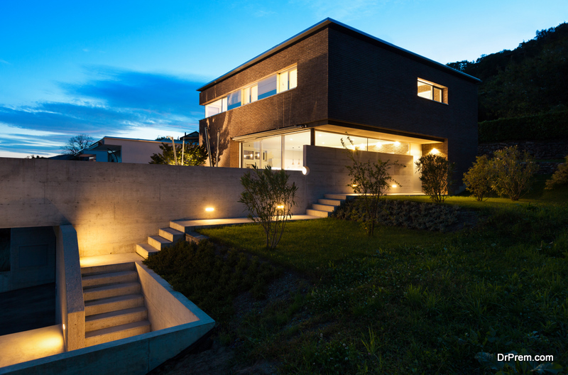 beautifully constucted house