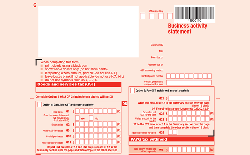 How much is business tax return