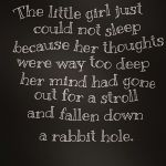 Top Best 22 Rabbit Holes Captions with Texts and Photos
