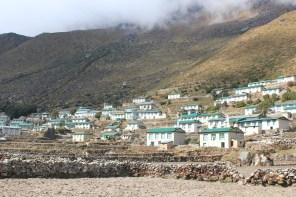 Khumjung Village- mostly rebuilt after the 2015 earthquake