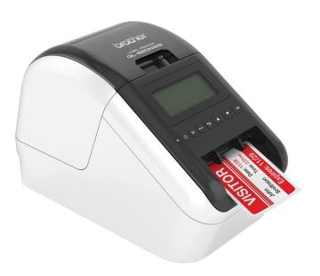 Brother QL-820NWB Printer Setup Visitor Registration