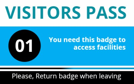 Best Visitor Badge Templates For Office Visitors | InstaCheckin