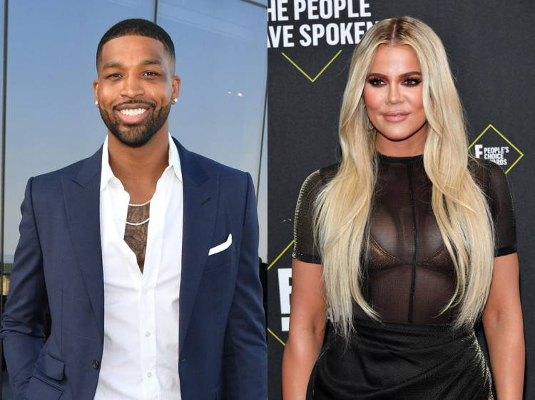 Tristan Thompson posts snap with daughter True, Khloé ...
