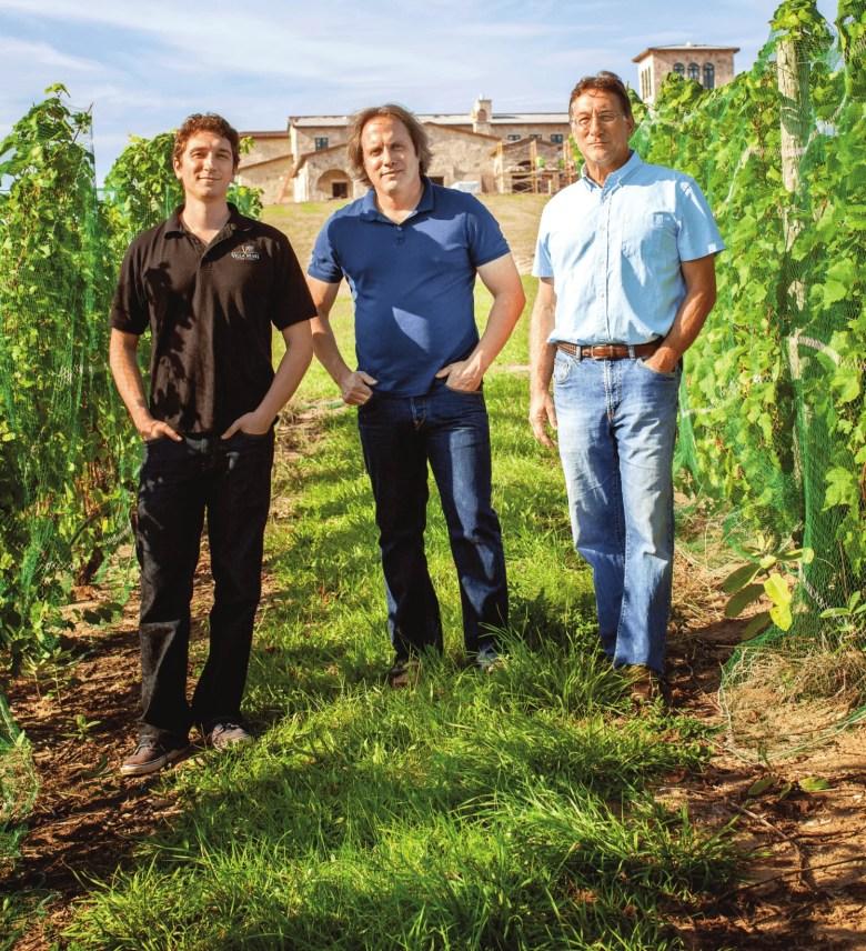 marty lagina winery vineyard produce wine