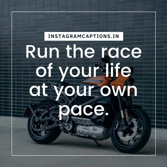 Biker Quotes for Instagram