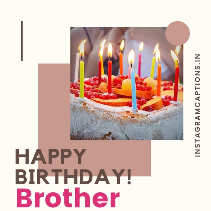 Brother Birthday Captions