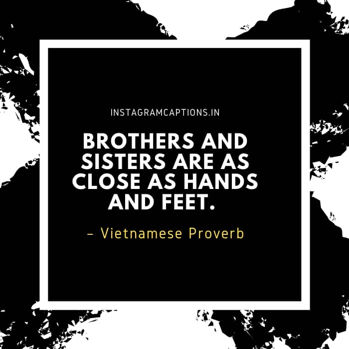 Brother Quotes for Instagram