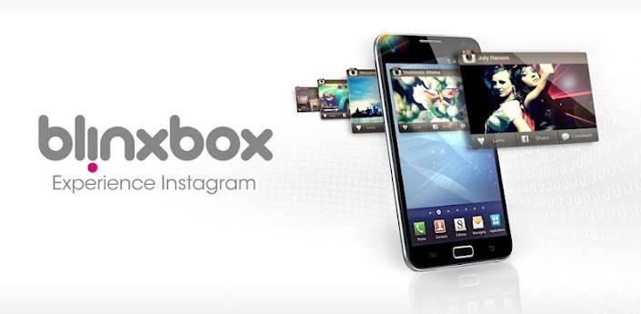 Blinxbox a new Instagram Api based app for Android