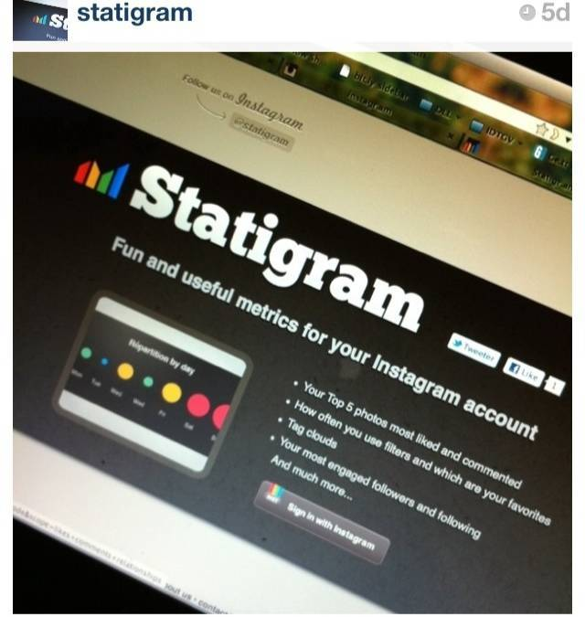 Statigram, the developers interview