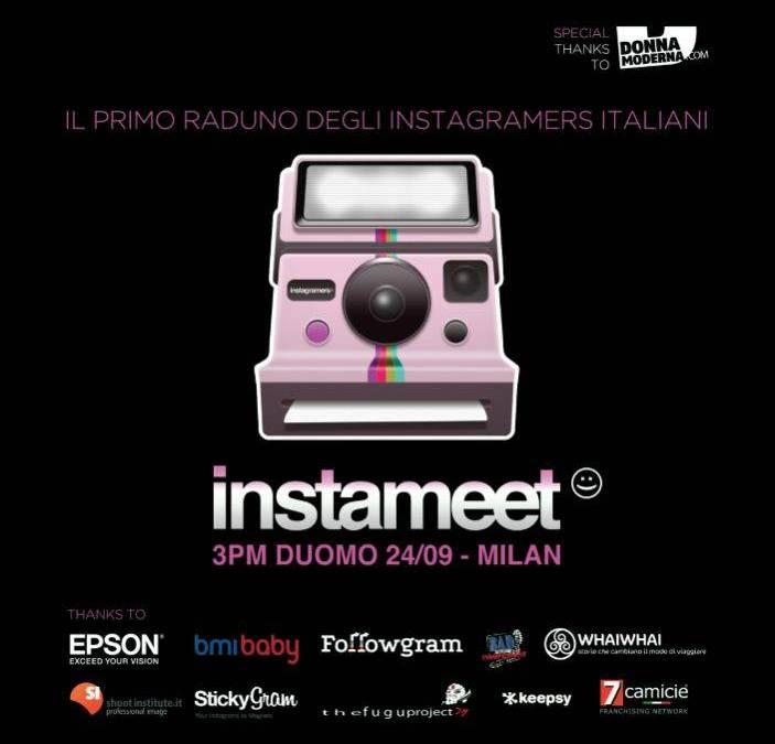 First Global Instameet Italia in Milano 24 september