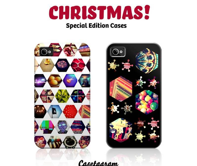 Casetagram releases two limited edition iPhone cases for Christmas