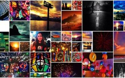 Create your Facebook Time Line cover with Instagram Pics.