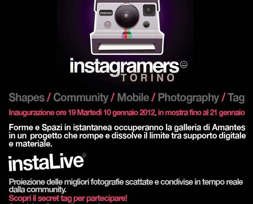 Instashapes, the first italian collective exhibition of 2012.