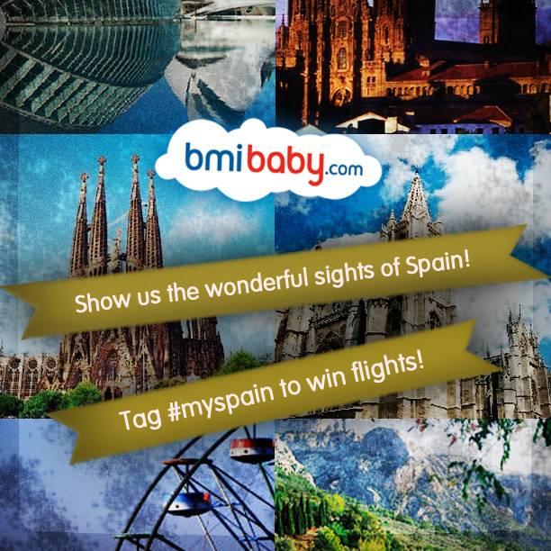 MySpain instagram contest – Win flights with Bmibaby