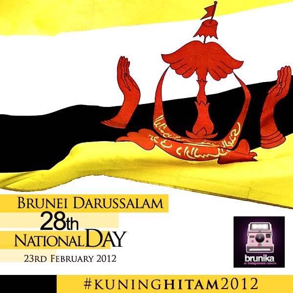 Brunei Darussalam 28th National Day in Instagram