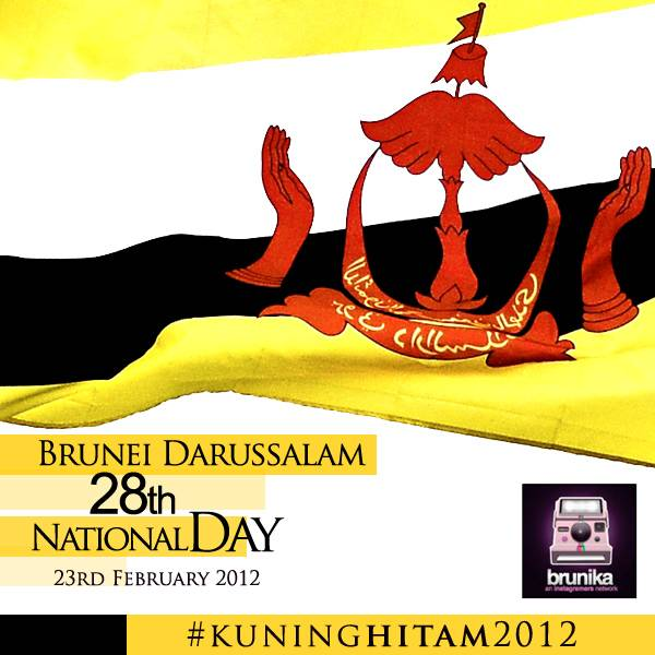 Brunei Darussalam 28th National Day in Instagram