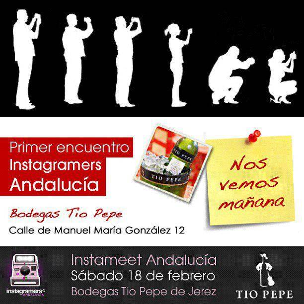 Primer instameet Igers Andalucia en las Bodegas Tio Pepe