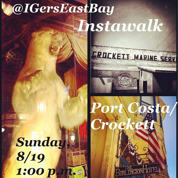 Instagramers East Bay Area Instameet announcement for next August, 19th