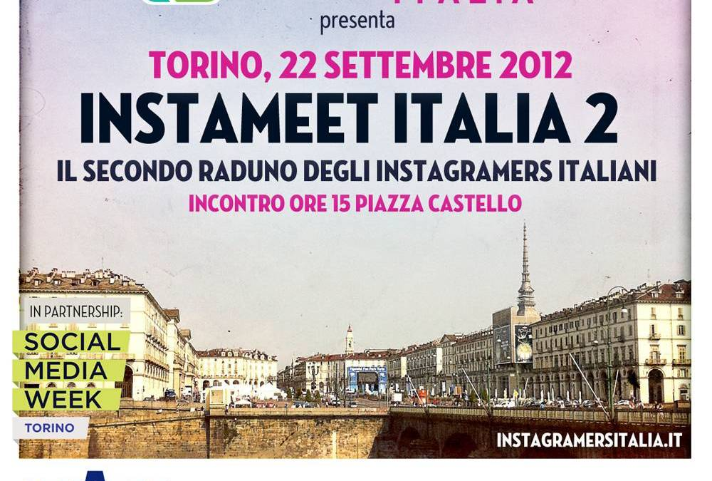 Second Instagramers Italia Instameet next 22, 23 September in Torino