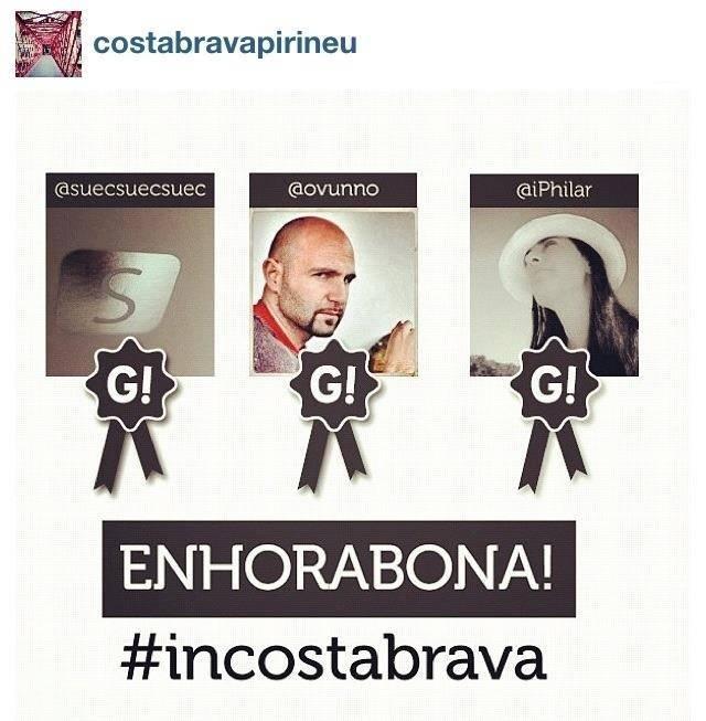 IncostaBrava una acción de promoción de la Costa Brava a través de Instagram