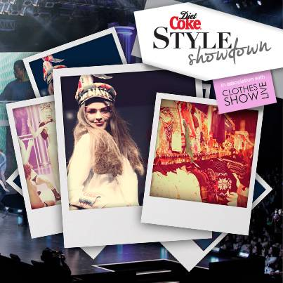 Instagram competition 'Diet Coke Style Show Down'
