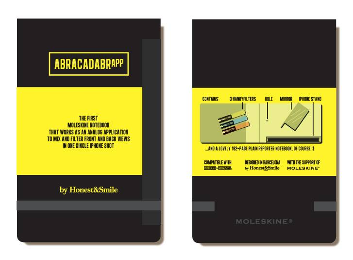 After 'The Love Box' now the 'AbracadabrApp'; an Analog Image Mixter and Notebook in one! by Honest&Smile