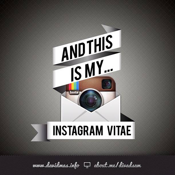 InstagramVitae, The first Curriculum Vitae on Instagram