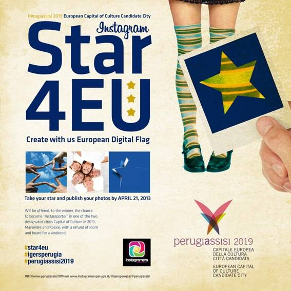 STAR4EU New European Flag by Instagramers