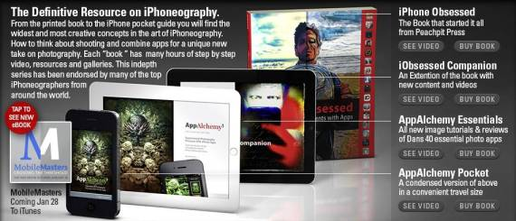 Dan Marcolina´s iPad eBook about Iphoneography to be presented at