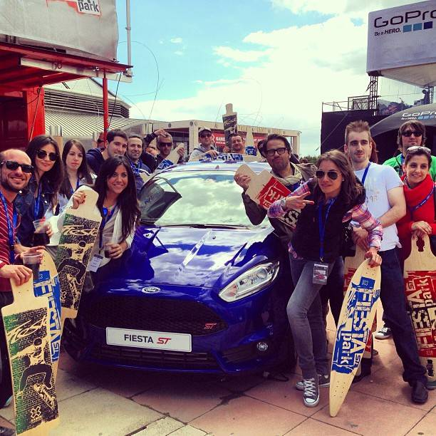 Let's Instagram the X games in Barcelona with Ford Spain!