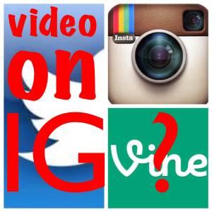 instagram videos and vine