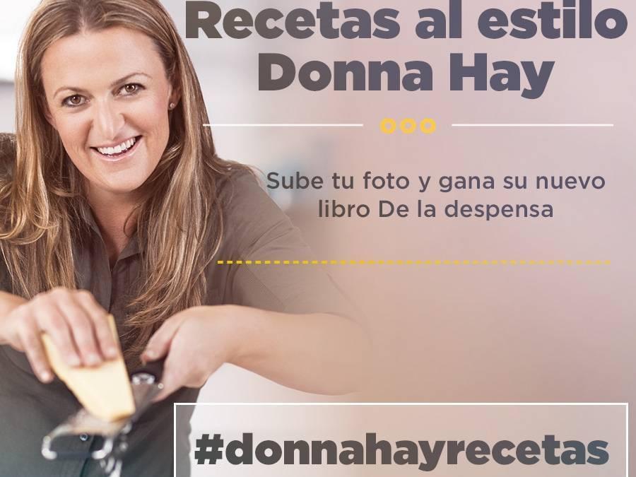 Gana Libros de Recetas de Donna Hay en Instagram gracias a Canal Cocina