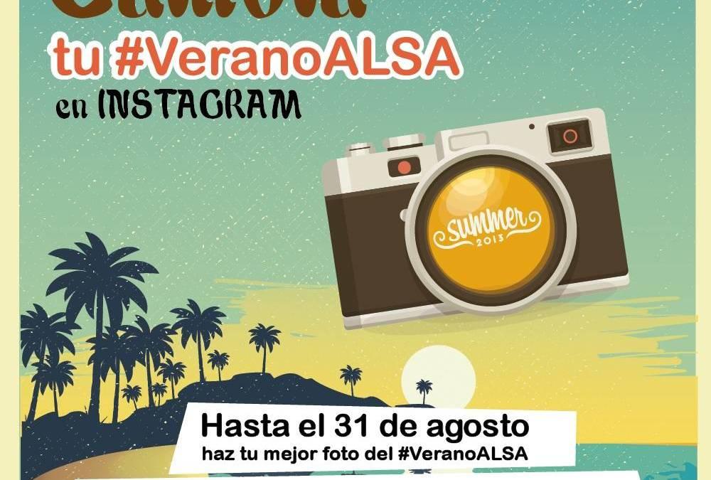 Nuevo Concurso de verano de ALSA en Instagram  ¡Participa y GANA PREMIOS con el #VeranoALSA!