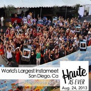 Worlds Largest Instameet in San Diego, California