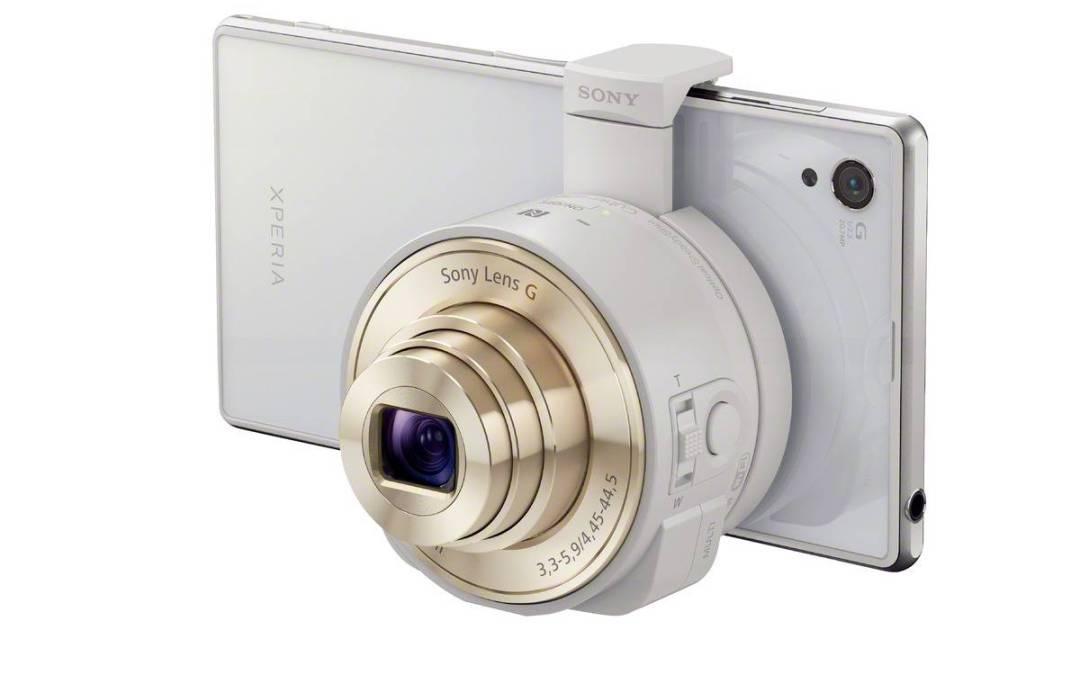 """Sony QX, o convertir el móvil en una cámara """"de verdad"""""""