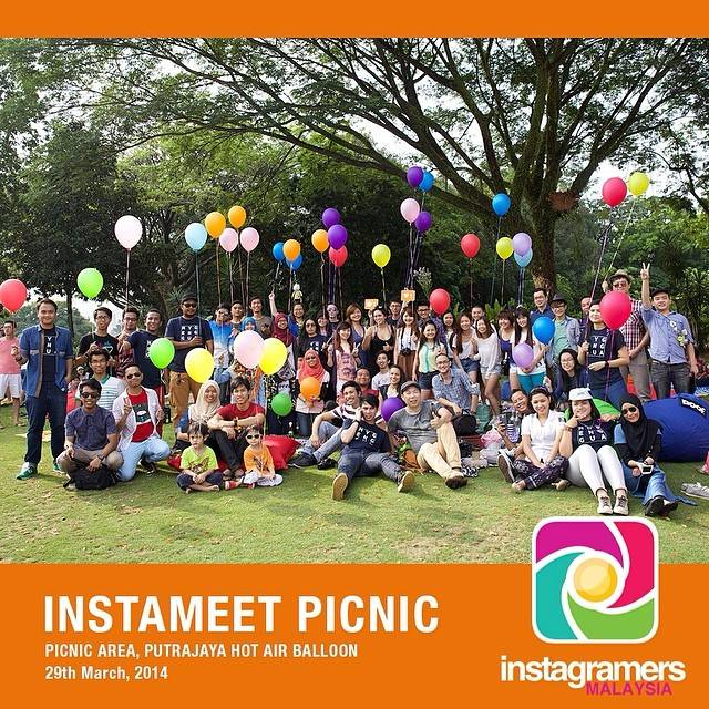 Instameet Picnic with Instagramers Malaysia