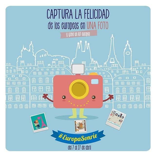 #EuropaSonrie ¿Te atreves a capturar la felicidad de los europeos?