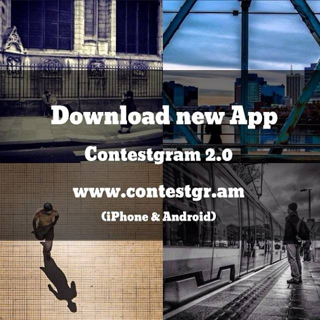 Discover the new ContestGram App for iPhone and Android