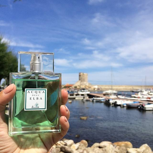 Instagramers behind the scenes at Acqua dell Elba Perfumes