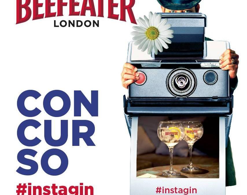 Concurso de verano en Instagram con Beefeater Dry Gin