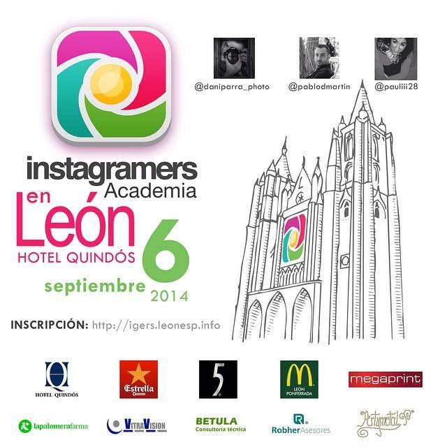 La Instagramers Academia llega a León en septiembre