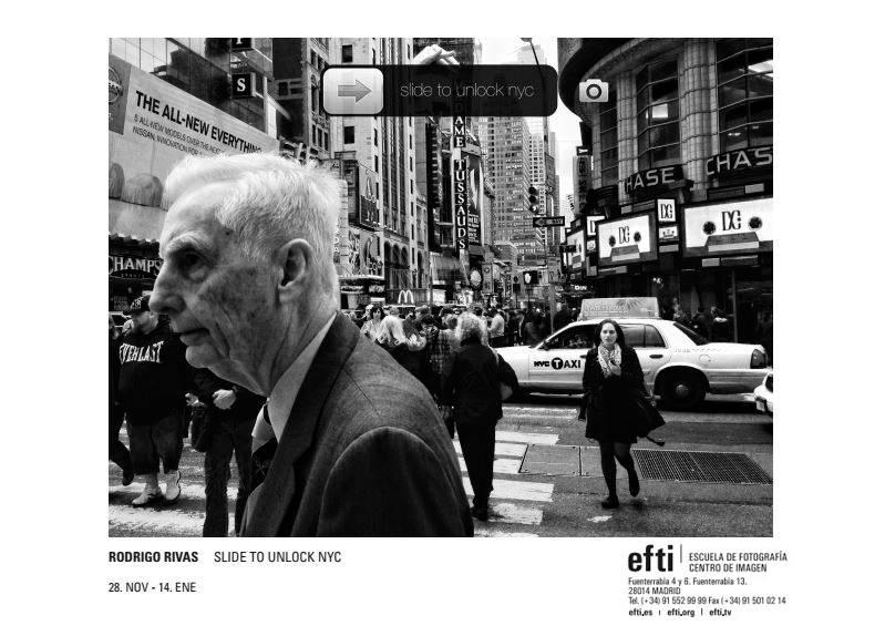 """""""Slide to Unlock NYC"""" la exposición de Rodrigo Rivas en la Sala OFF de EFTI nos muestra Nueva York"""