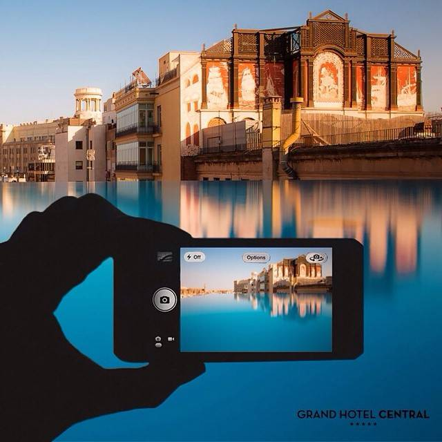 Participa en el concurso de Instagramers Bcn y Grand Hotel Central en Instagram