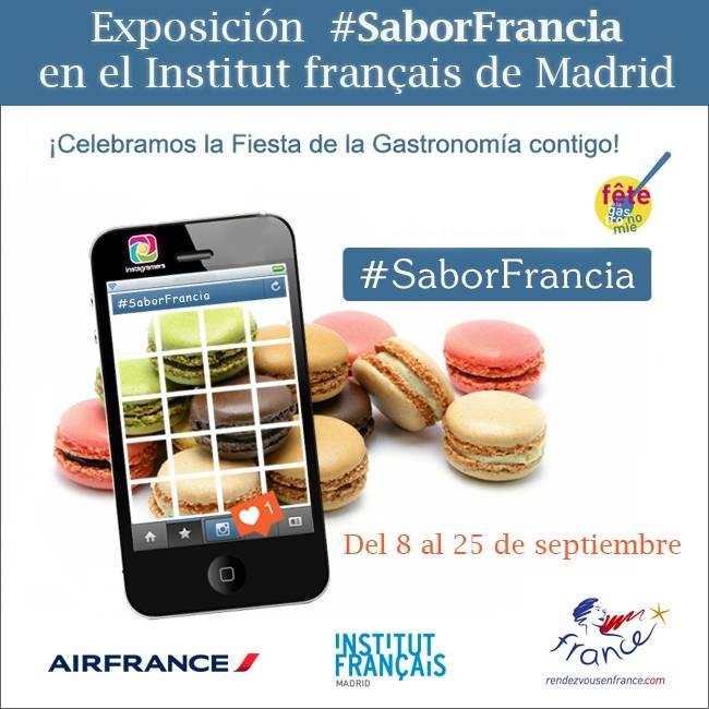 Ya tenemos los finalistas de #SaborFrancia que expondrán en el Institut Français de Madrid