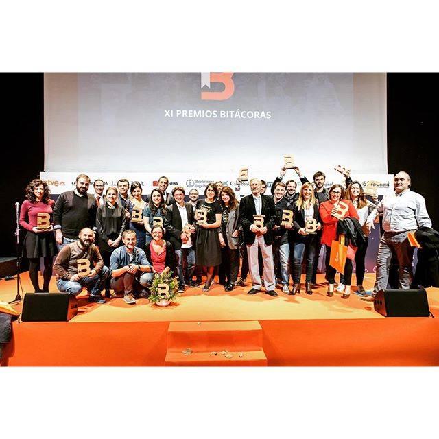 Best of 2015: Instagramers estuvo entregando premios en los Bitácoras 2015