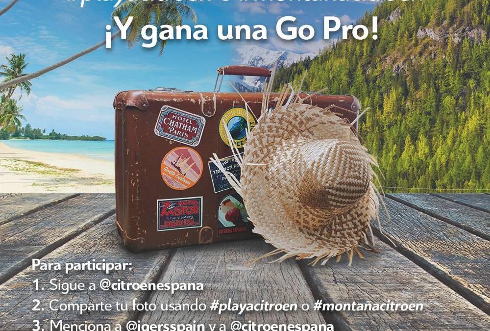 ¿Eres de Playa o Montaña? ¡Participa en el nuevo concurso de Citroën en Instagram!