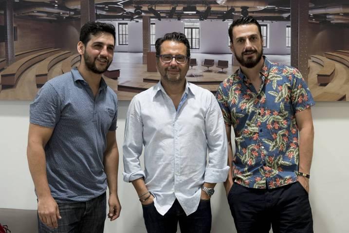 Fran Perea, Phil González, Isaac F. Corrales