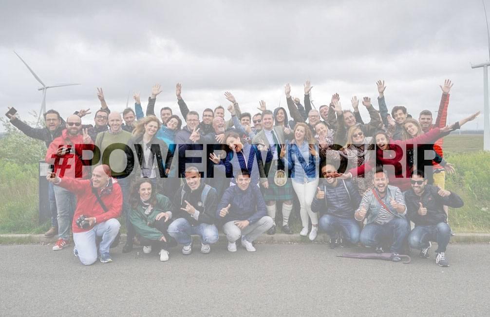 Resumen de nuestro #PowerWindTrip con @iberdrola a Whitelee Escocia