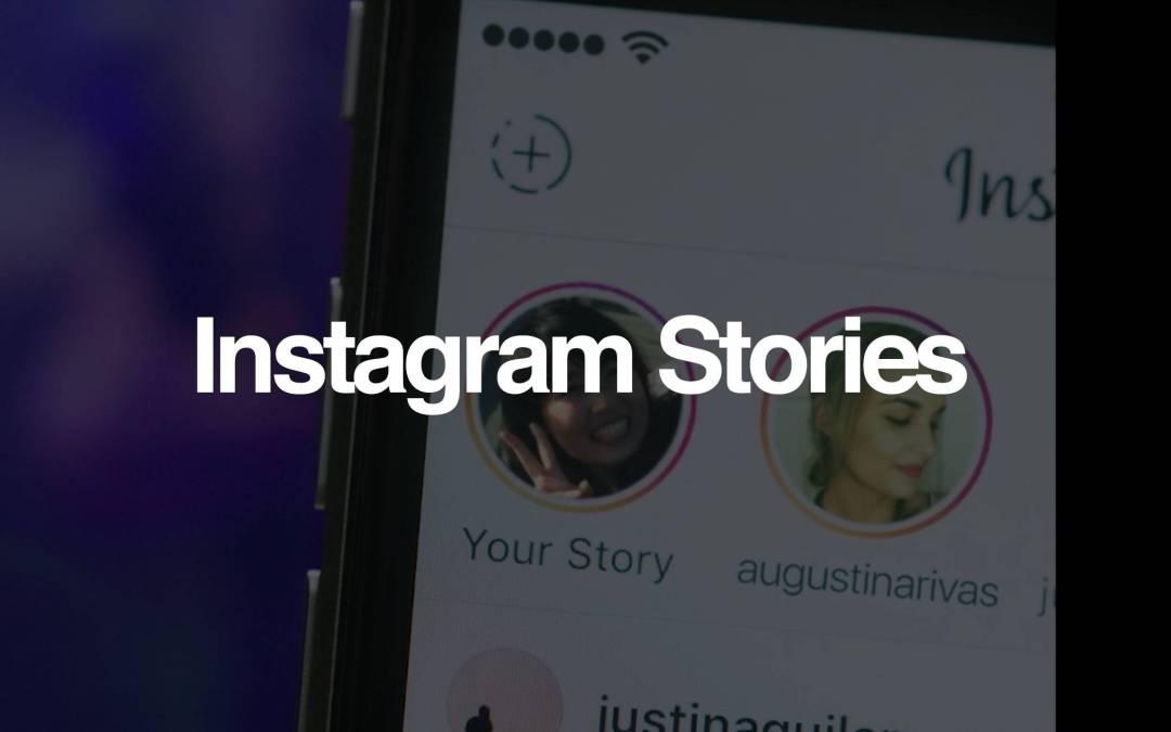 Instagram Stories ¿Una nueva arma contra Snapchat?