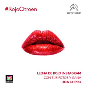 #rojocitroen concurso instagram